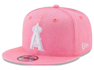 Los Angeles Angels New Era MLB Neon Time 9FIFTY Snapback Cap