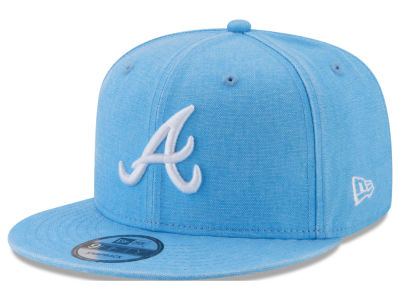 Atlanta Braves New Era MLB Neon Time 9FIFTY Snapback Cap