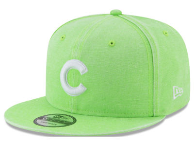 Chicago Cubs New Era MLB Neon Time 9FIFTY Snapback Cap