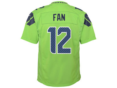 Seattle Seahawks Nike NFL Kids Color Rush Jersey