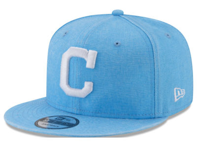 Cleveland Indians New Era MLB Neon Time 9FIFTY Snapback Cap