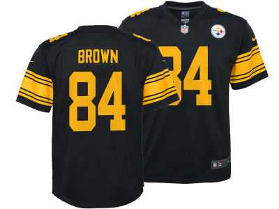 Pittsburgh Steelers Antonio Brown Nike NFL Kids Color Rush Jersey