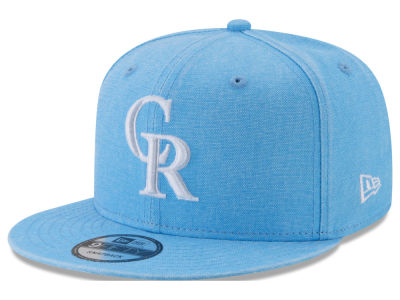 Colorado Rockies New Era MLB Neon Time 9FIFTY Snapback Cap