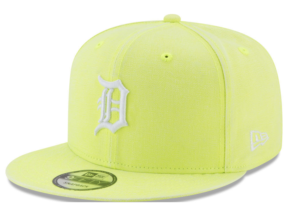 innovative design a0f19 40aed ... good neon yellow mens detroit tigers new era mlb neon time 9fifty  snapback cap 20926450 2018