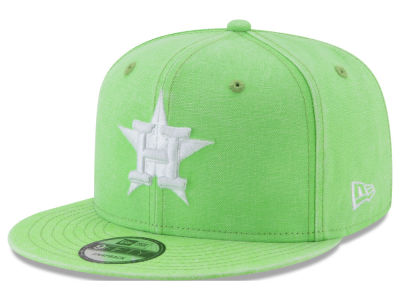 Houston Astros New Era MLB Neon Time 9FIFTY Snapback Cap