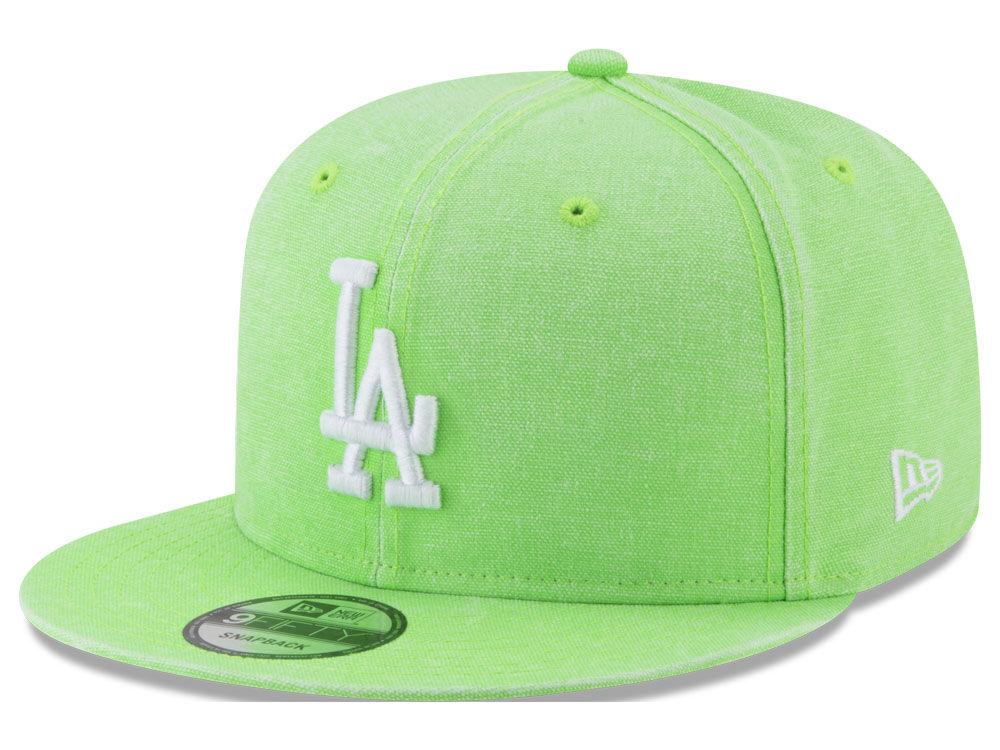 Los Angeles Dodgers New Era MLB Neon Time 9FIFTY Snapback Cap  dabc4f7bd9af