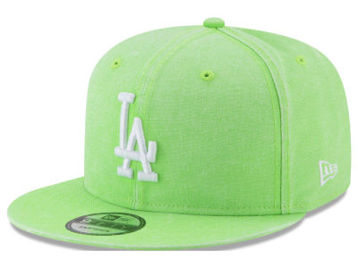 Los Angeles Dodgers New Era MLB Neon Time 9FIFTY Snapback Cap