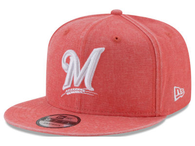 Milwaukee Brewers New Era MLB Neon Time 9FIFTY Snapback Cap
