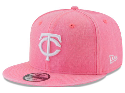 Minnesota Twins New Era MLB Neon Time 9FIFTY Snapback Cap