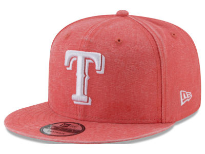 Texas Rangers New Era MLB Neon Time 9FIFTY Snapback Cap