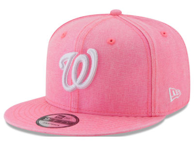 Washington Nationals New Era MLB Neon Time 9FIFTY Snapback Cap