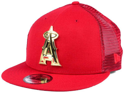 Los Angeles Angels New Era MLB Color Metal Mesh Back 9FIFTY Cap