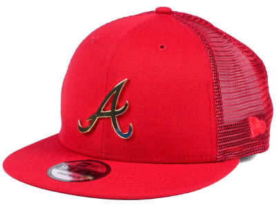 Atlanta Braves New Era MLB Color Metal Mesh Back 9FIFTY Cap