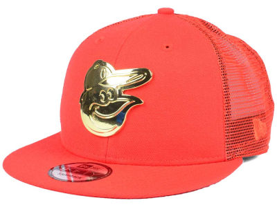 Baltimore Orioles New Era MLB Color Metal Mesh Back 9FIFTY Cap