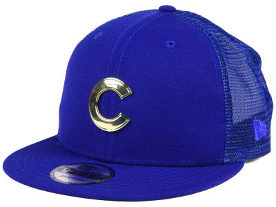 Chicago Cubs New Era MLB Color Metal Mesh Back 9FIFTY Cap