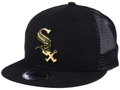 Chicago White Sox New Era MLB Color Metal Mesh Back 9FIFTY Cap