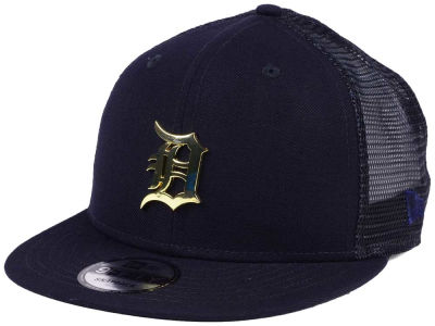 Detroit Tigers New Era MLB Color Metal Mesh Back 9FIFTY Cap