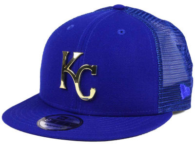 Kansas City Royals New Era MLB Color Metal Mesh Back 9FIFTY Cap