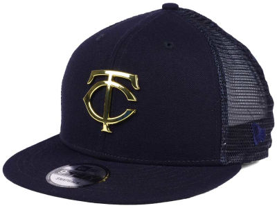 Minnesota Twins New Era MLB Color Metal Mesh Back 9FIFTY Cap