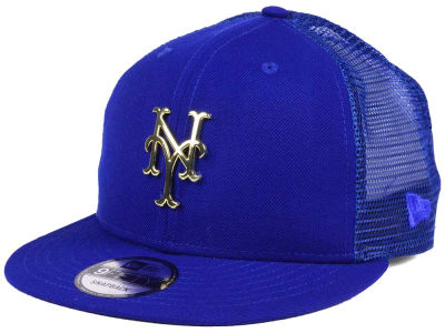 New York Mets New Era MLB Color Metal Mesh Back 9FIFTY Cap