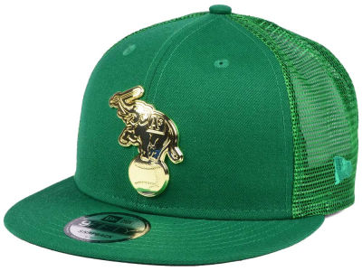 Oakland Athletics New Era MLB Color Metal Mesh Back 9FIFTY Cap