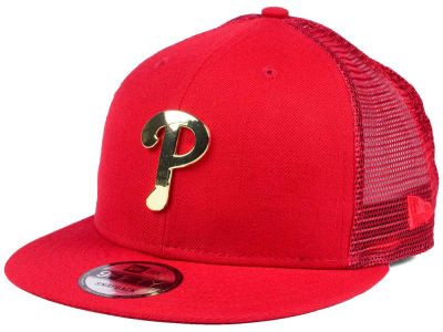 Philadelphia Phillies New Era MLB Color Metal Mesh Back 9FIFTY Cap