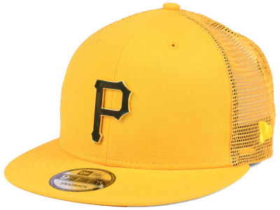 Pittsburgh Pirates New Era MLB Color Metal Mesh Back 9FIFTY Cap