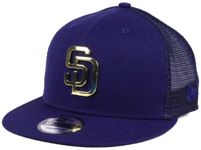 San Diego Padres New Era MLB Color Metal Mesh Back 9FIFTY Cap