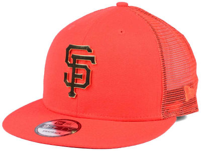 San Francisco Giants New Era MLB Color Metal Mesh Back 9FIFTY Cap