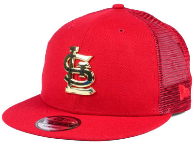 St. Louis Cardinals New Era MLB Color Metal Mesh Back 9FIFTY Cap