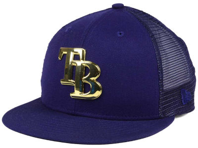 Tampa Bay Rays New Era MLB Color Metal Mesh Back 9FIFTY Cap