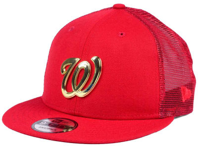 Washington Nationals New Era MLB Color Metal Mesh Back 9FIFTY Cap