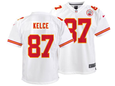 Kansas City Chiefs Travis Kelce Nike NFL Youth Game Jersey