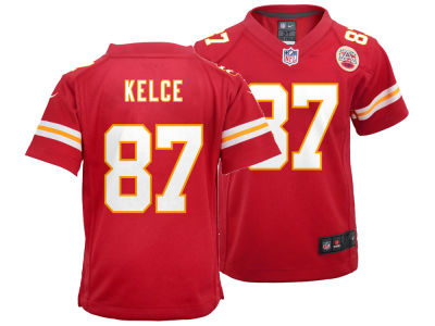 Kansas City Chiefs Travis Kelce Nike NFL Toddler Game Jersey