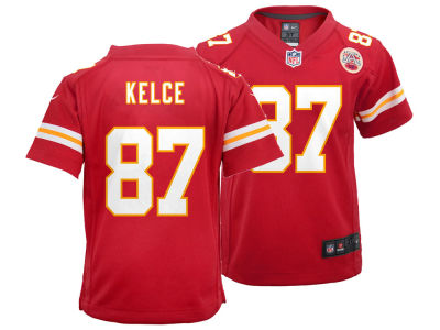 Kansas City Chiefs Travis Kelce Nike NFL Kids Game Jersey