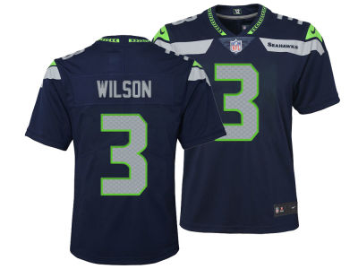 Seattle Seahawks Russell Wilson Nike NFL Youth Limited Team Jersey