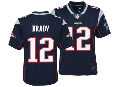 New England Patriots Tom Brady Nike NFL Youth Limited Team Jersey