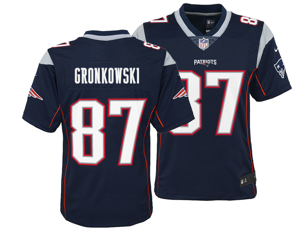 newest collection b8760 7717b New England Patriots Rob Gronkowski Nike NFL Youth Limited Team Jersey