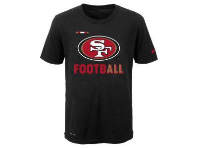 San Francisco 49ers Nike NFL Youth Legend Football T-Shirt