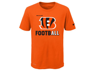 Cincinnati Bengals Nike NFL Youth Legend Football T-Shirt