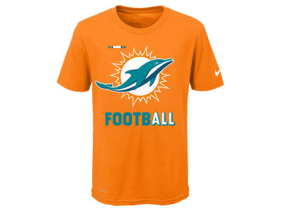 Miami Dolphins Nike NFL Youth Legend Football T-Shirt