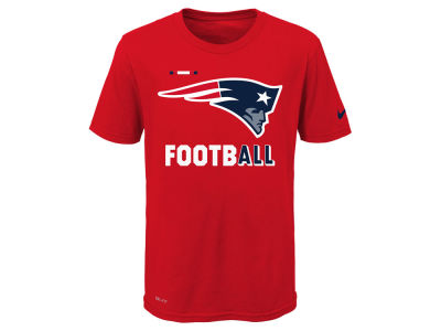 New England Patriots Nike NFL Youth Legend Football T-Shirt