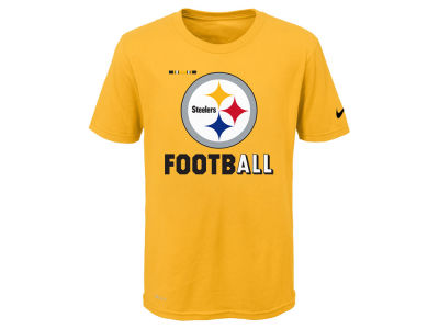 Pittsburgh Steelers Nike NFL Youth Legend Football T-Shirt