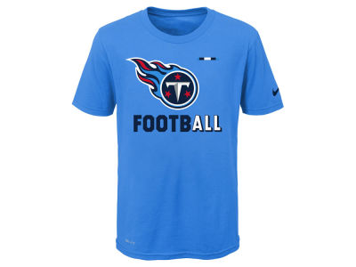 Tennessee Titans Nike NFL Youth Legend Football T-Shirt