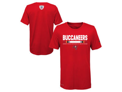 Tampa Bay Buccaneers Nike NFL Youth Legend Staff T-Shirt