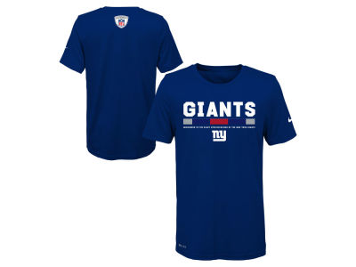 New York Giants Nike NFL Youth Legend Staff T-Shirt