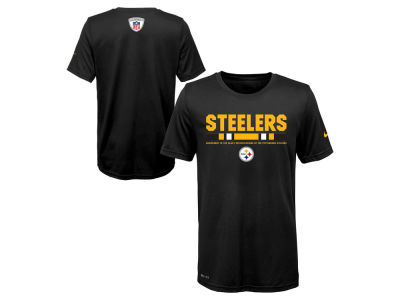 Pittsburgh Steelers Nike NFL Youth Legend Staff T-Shirt