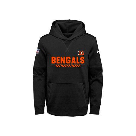 Cincinnati Bengals Nike NFL Youth Pull Over Therma Hoodie