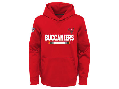 Tampa Bay Buccaneers Nike NFL Youth Pull Over Therma Hoodie