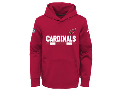 Arizona Cardinals Nike NFL Youth Pull Over Therma Hoodie